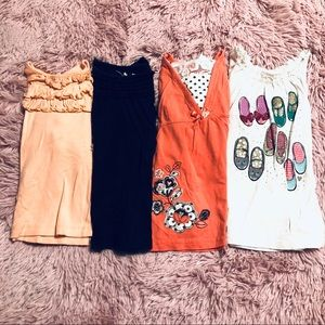 Lot of 4 Toddler Long Sleeve Tops